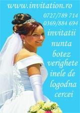 Invitatii de nunta 2013