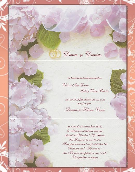 Wedding Invitation Samples Texts For Wedding Invitations