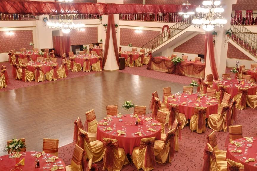 Wedding restaurant pictures Regal Ballroom wedding ballroom