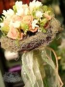 Buchete mireasa / Lumanari cununie / Aranjamente florale Agentia Casa Cochet