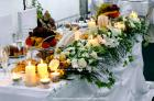 Buchete mireasa / Lumanari cununie / Aranjamente florale Agentia Chic Mariage