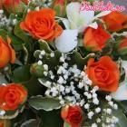 mireasa / Lumanari cununie / Aranjamente florale Buchete.ro