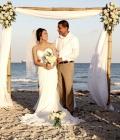 Aranjamente florale de nunta: arcade (II)