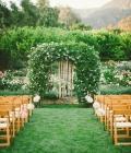 Aranjamente florale de nunta: arcade