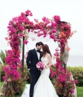 Aranjamente florale de nunta: arcade (I)