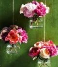 Aranjamente florale de nunta, suspendate (I)