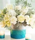 Aranjamente florale in diverse vaze/recipiente (II)