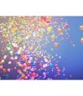 Baloane de nunta eliberate in aer