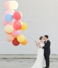 Baloanele in fotografiile de nunta