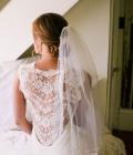 Coafuri de nunta: cocul jos
