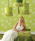 Combinatii de culori pentru nunta: verde-galben, verde lamaie, oliv