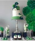 Combinatii de culori pentru nunta: verde