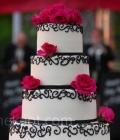 culori-nunta-alb-negru-rosu-auriu-galben-decoratiuni-flori-buchete-34