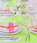 Culori neon: decoratiuni