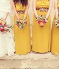 Culori pentru nunti de toamna: mustar