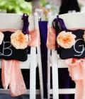Decoratiuni de nunta:  indicatoare si tablite cu mesaje