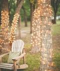 Decoratiuni nunti: lampioane din hartie si ghirlande luminoase