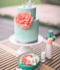 Decoratiuni pentru tortul de nunta din origami