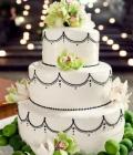 Decoratiuni pentru tortul de nunta inspirate din natura (I)
