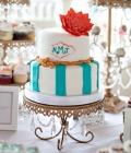 Decoratiuni pentru tortul de nunta inspirate din natura (II)