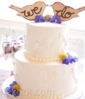 Decoratiuni pentru tortul de nunta sub forma de mesaje specifice (II)
