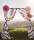 Decoratiuni de nunta cu drapaje/voaluri