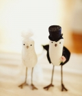 Figurine mire si mireasa inspirate din lumea animala (I)