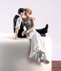 Figurine mire si mireasa pentru tortul de nunta (II)