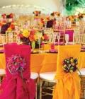 Decoratiuni pentru scaunele de nunta: funde