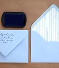 Invitatii de nunta: decorarea plicului (II)