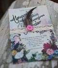 Invitatii de nunta desenate handmade (I)