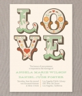 Invitatii de nunta in stil original-excentric