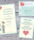 Invitatii de nunta: template-uri (I)
