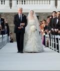 Rochie de mireasa Chelsea Clinton