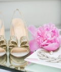 Paiete si sclipici: accesorii de nunta (pantofii de mireasa)