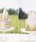 Paiete si sclipici: tortul si desertul pentru nunta