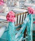 Decoratiuni pentru scaunele de nunta: panglici sau streamere