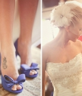 Pantofi de nunta colorati