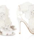 Pantofi de nunta in nuante deschise (I)