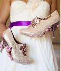 Pantofi de nunta in nuante deschise (II)