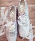 Pantofi de nunta stralucitori