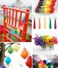 Tendinte de nunta: culori curcubeu