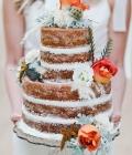 Torturi de nunta in cromatica de toamna