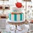 Un tort de nunta gustos poate fi si aratos. Figurine si decoratiuni pentru tortul de nunta
