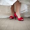 Pantofii de mireasa nu sunt pentru a fi ascunsi sub rochie