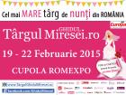 Târgul Ghidul Miresei, 19 – 22 februarie 2015, Cupola Romexpo, Bucuresti