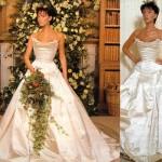 Victoria Beckham rochie de mireasa