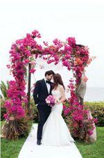 Arcade florale de nunta