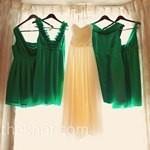 combinatii culori nunta_verde