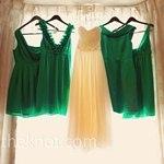 Inspiratii cromatice pentru nunta ta. Verdele